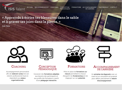 Isis Talent - coaching en entreprise